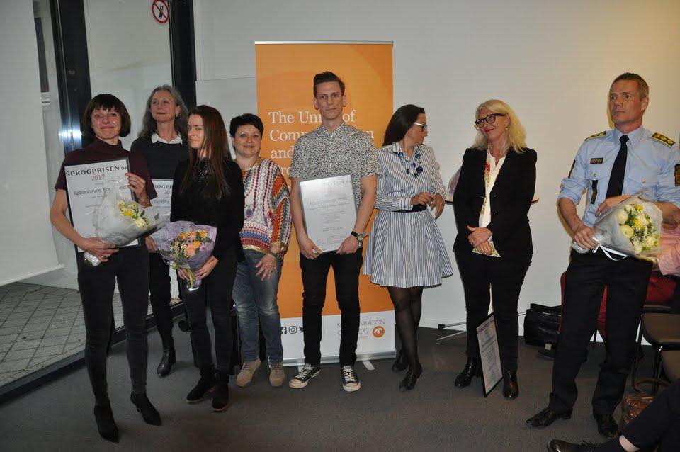 Vinderne af Sprogprisen.dk 2017